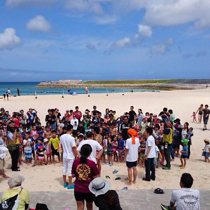 2016年ぎのわんトロピカルビーチ海開き02